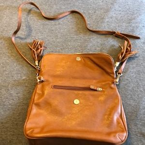 EUC small tan crossbody bag